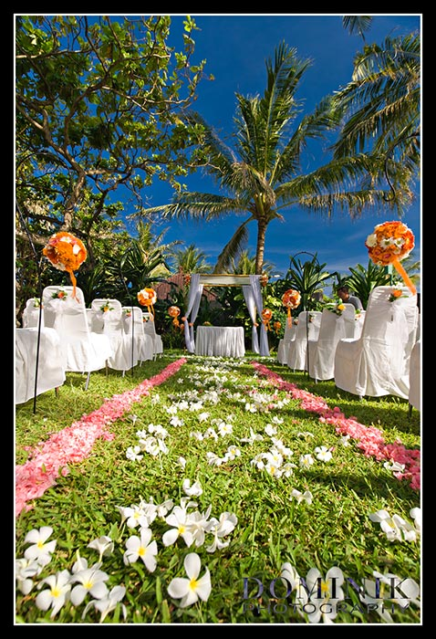 Bali Wedding decor