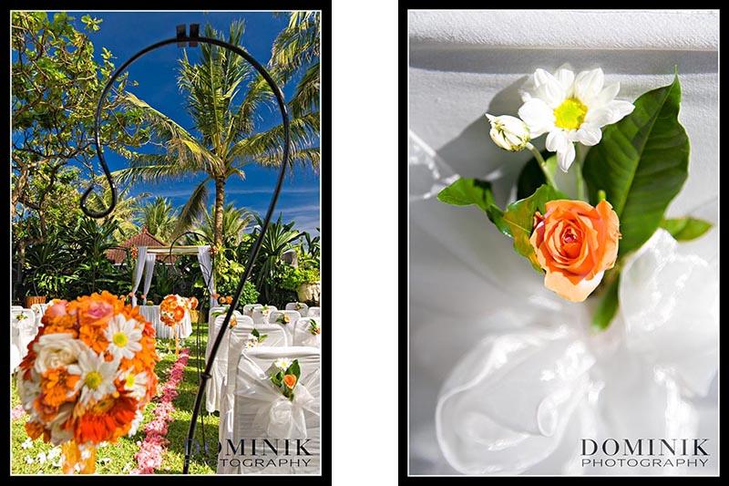 Bali Wedding details