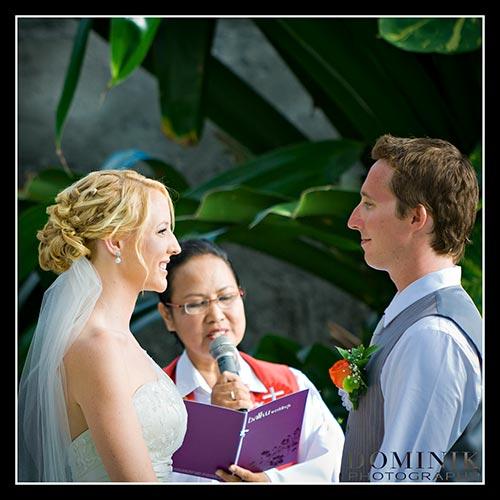 Bali wedding altar