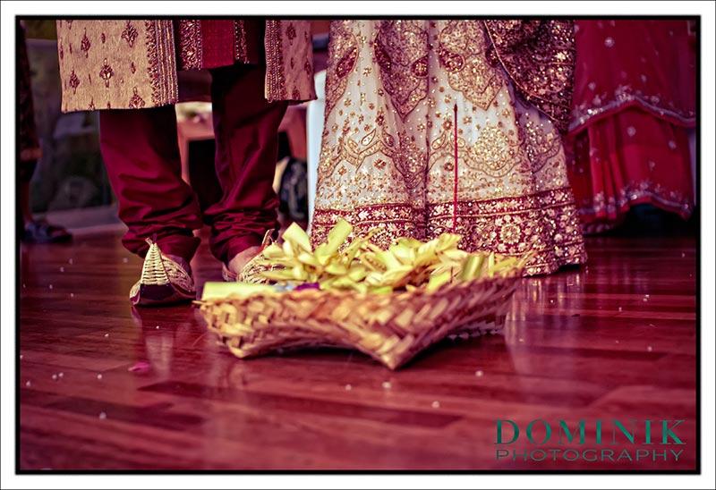 Indian Wedding ceremony in Bali