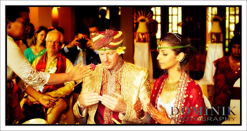 Indian Wedding ceremony in Bali