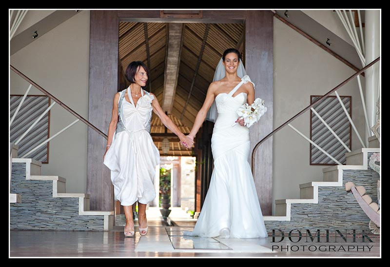 photo of Bali wedding
