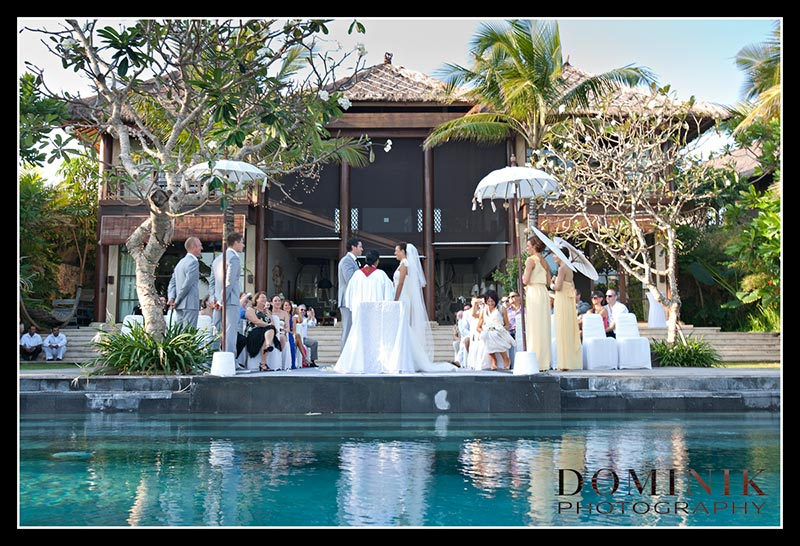 Bali wedding villa photographs