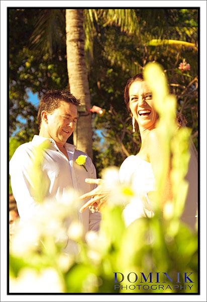 Candid Bali Wedding photograph