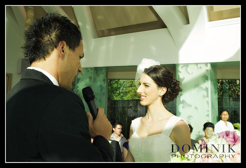 photo of Bali chapel wedding