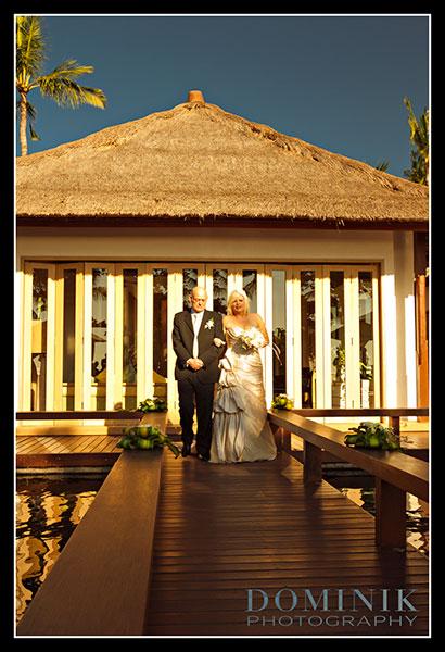 Bali Wedding at sunset