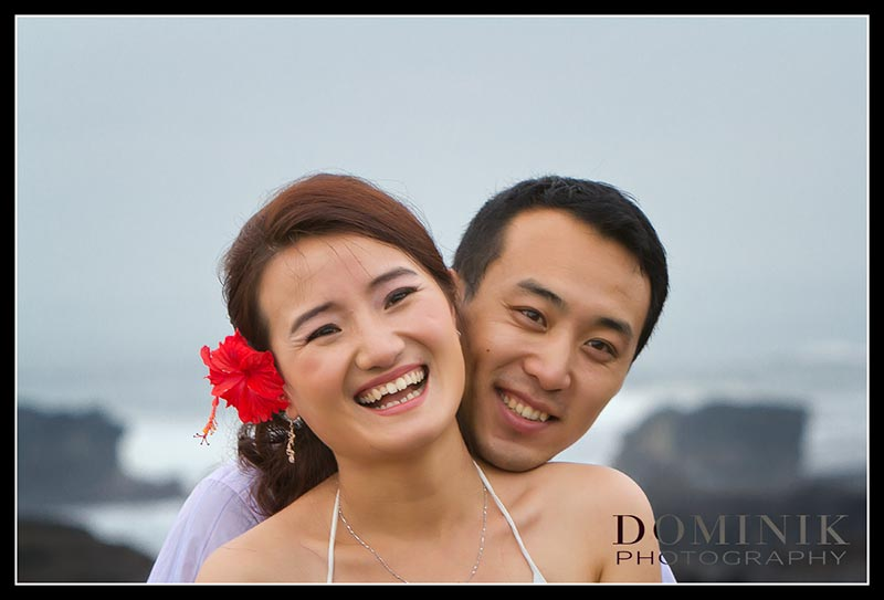 Pre Wedding Photography in Bali on a rainy day…