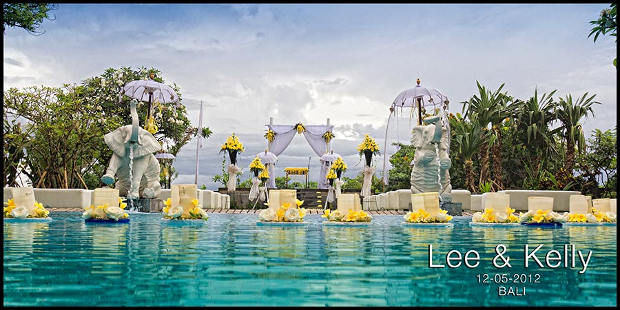 Bali Wedding Photography for Lee and Kelly at Hotel Padma