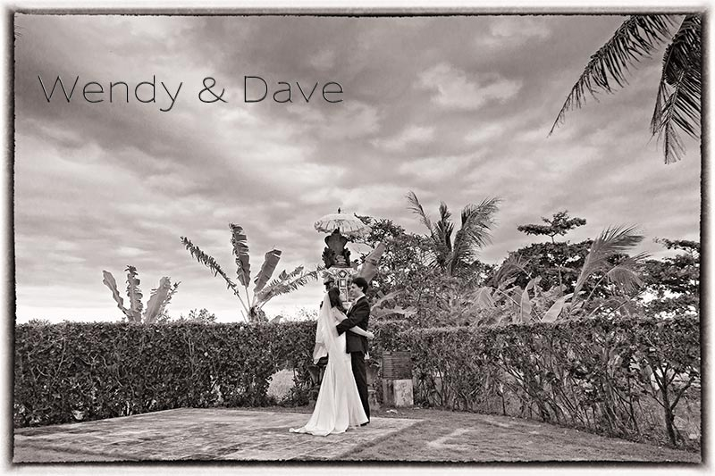 Artistic Wedding Photography in Bali