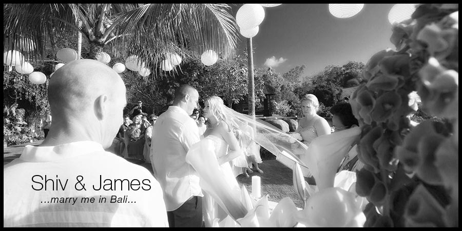 Our Villa Wedding in Bali