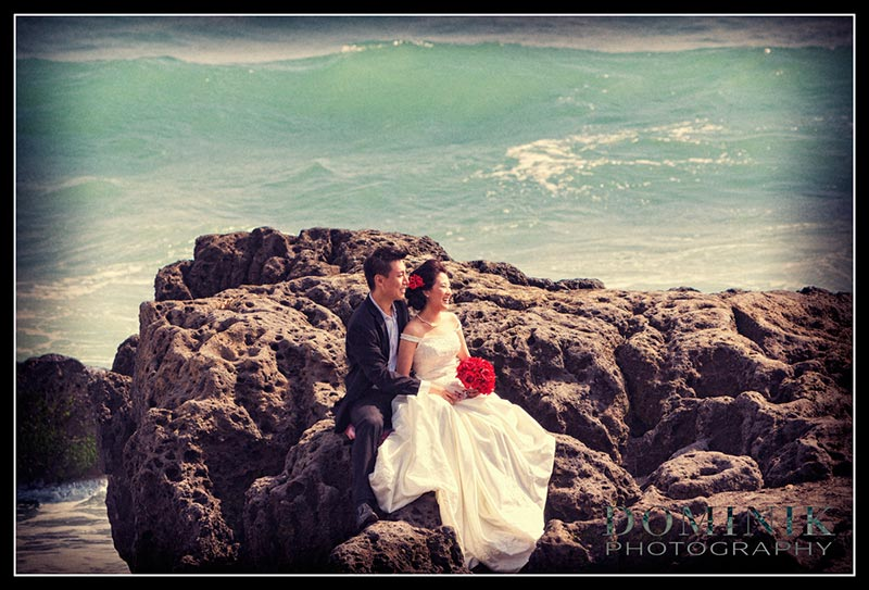 Bali Beach Pre Wedding Photograph