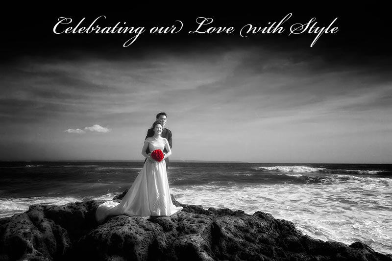 Bali Pre Wedding Photography at its best