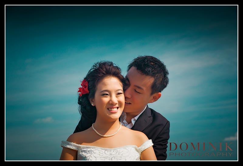 Bali Pre wedding of an Asian couple