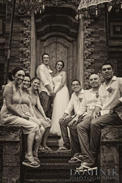 award winning Bali wedding photograph