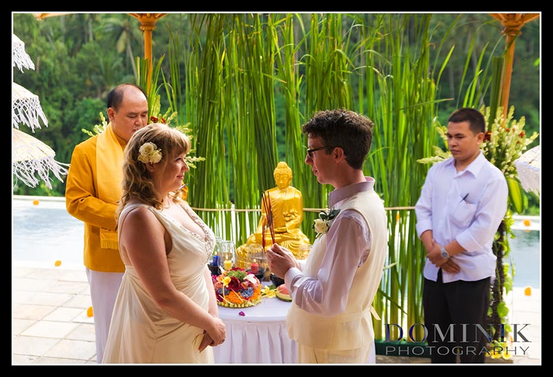 Bali BUddhist wedding photographer