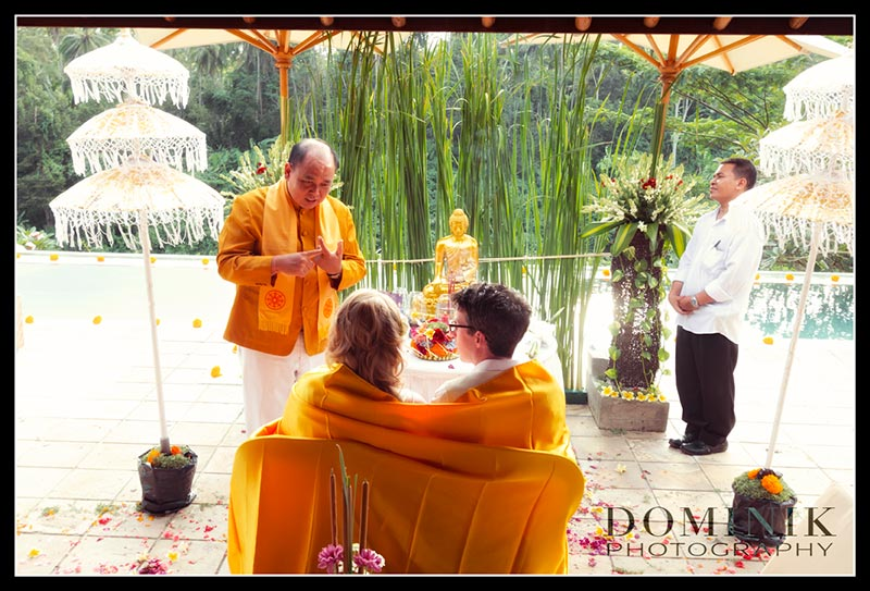 Bali BUddhist wedding photographers