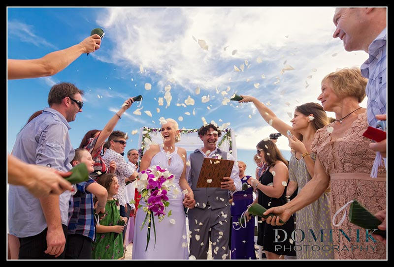 Bali villa wedding photos