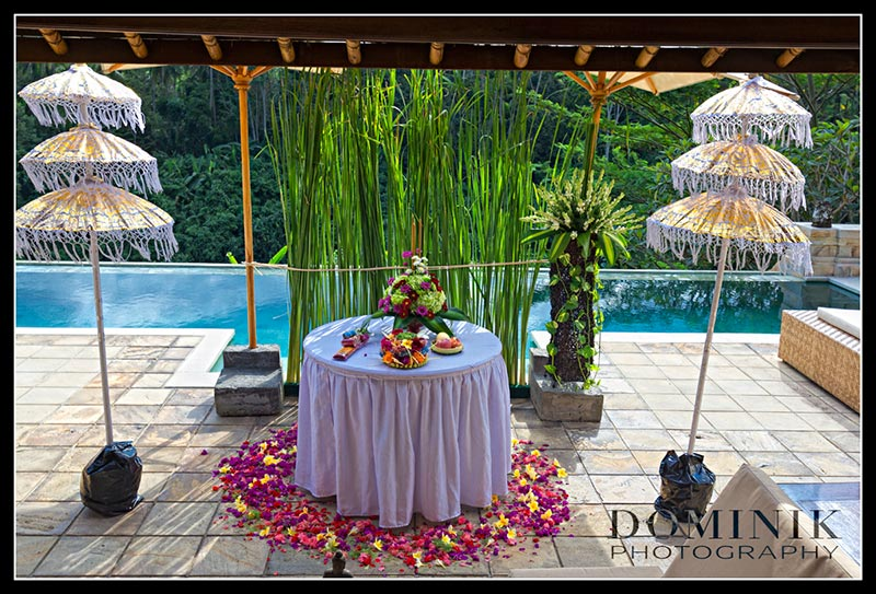Bali wedding BUddhist photo