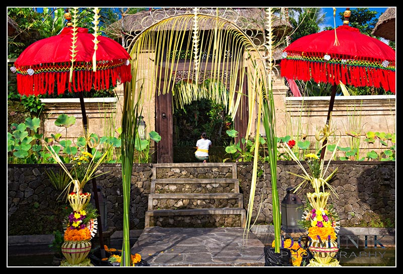 Bali wedding BUddhist photographs