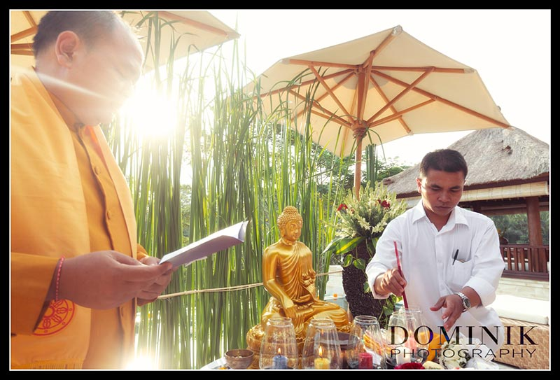 Bali wedding photographer Buddhist