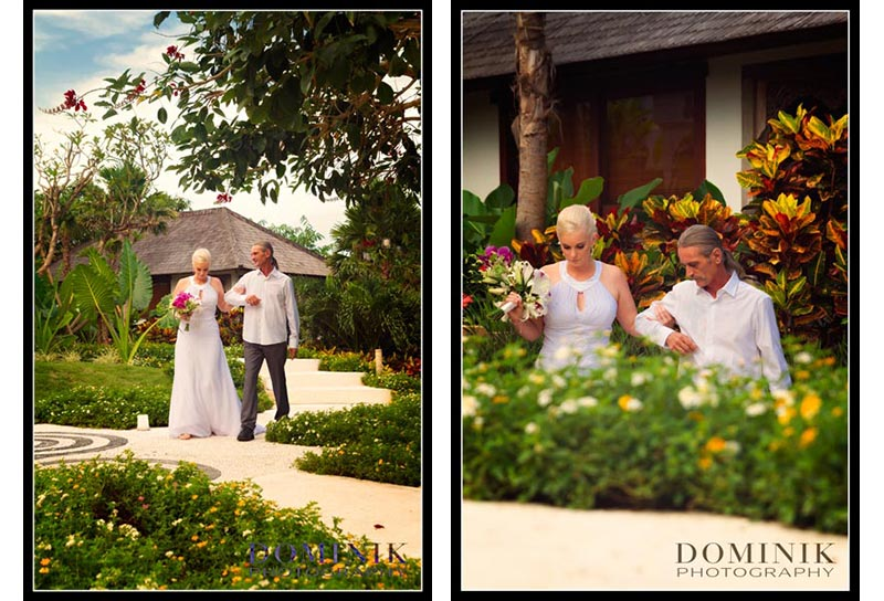 Villa wedding photographers Bali