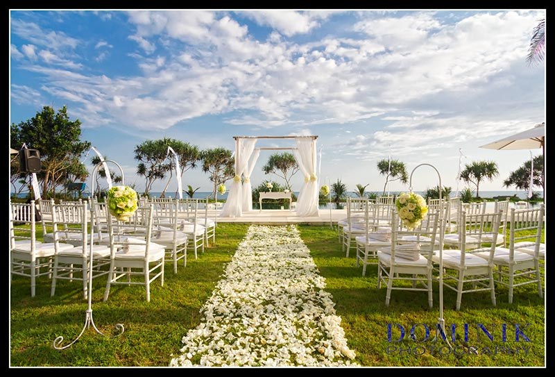 Bali wedding venue photo