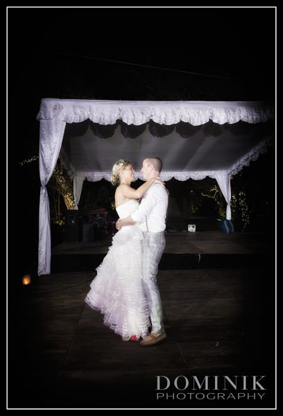 fist dance Bali wedding