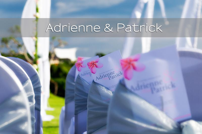Wedding photo journalism from Adrienne & Patrick