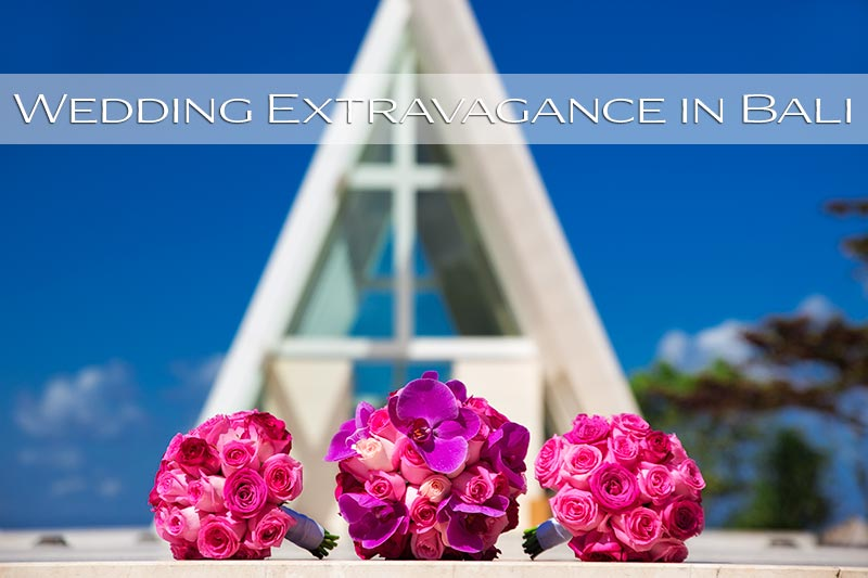 An extravagant Wedding at Infinity Chapel