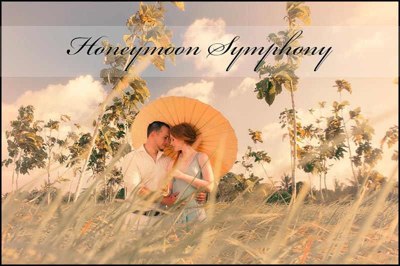 Honeymoon photo symphony