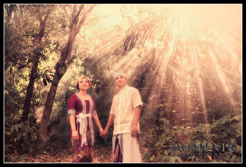 Bali art pre wedding