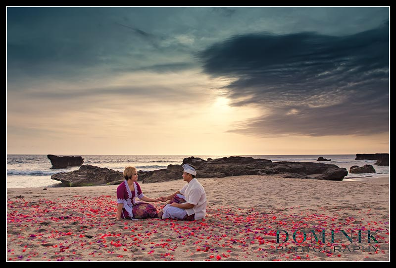 Bali beach photo session