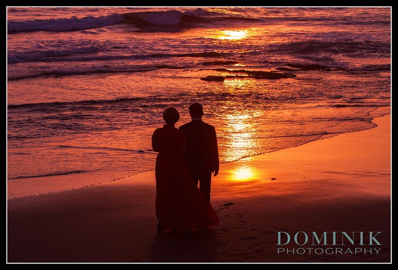 sunset pre wedding