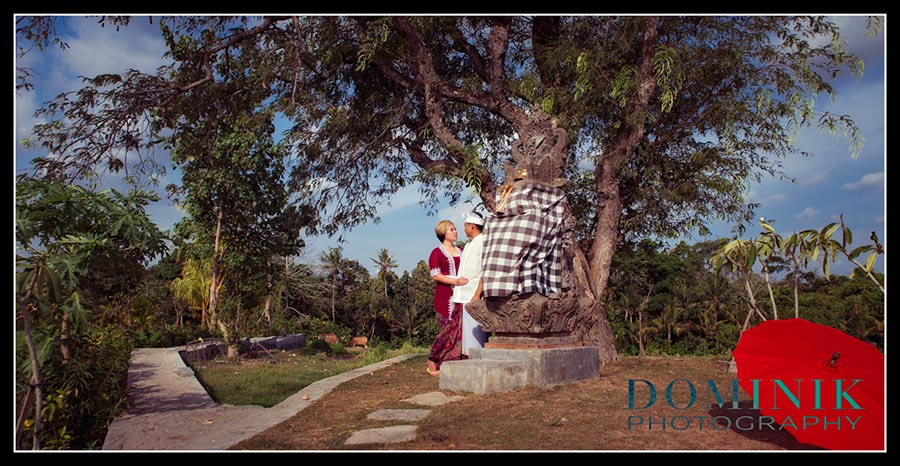 artistic prewedding photo