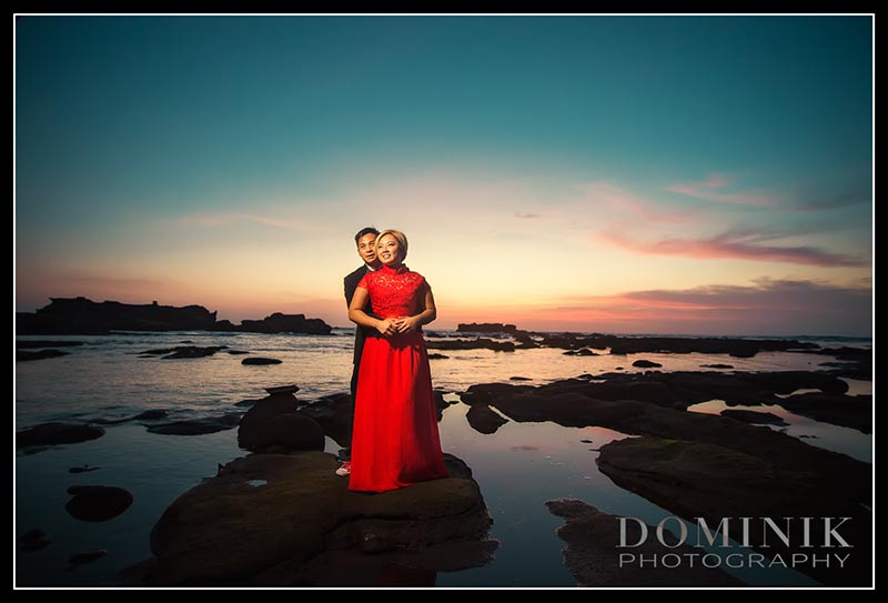 sunset photos in Bali