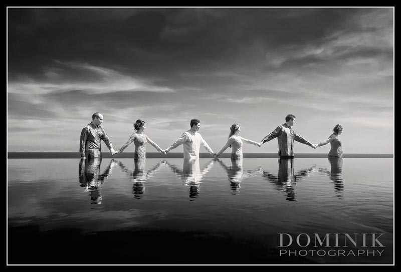 Villa wedding in Bali
