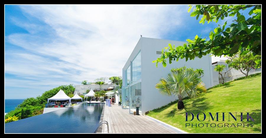 cliff top wedding villa Bali