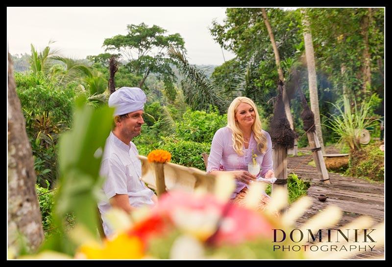 Bali Hochzeit Zeremonie