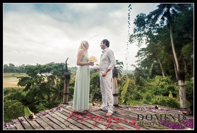 Unsere Heirat in Bali
