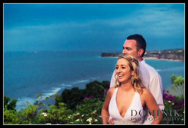 photos of Bali villa weddings