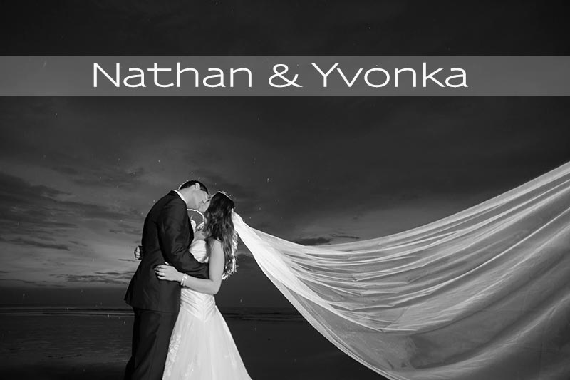 Yvonka & Nathan Bali Nuptials