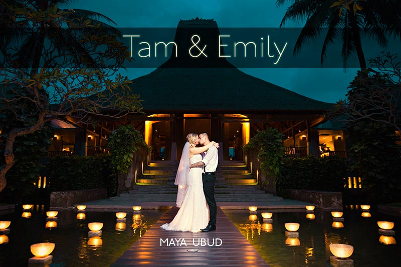 Maya Ubud wedding