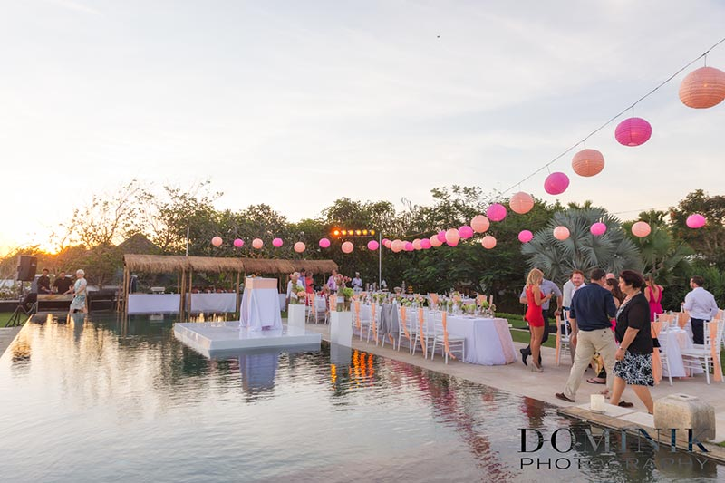 Sanctus Bali villa wedding